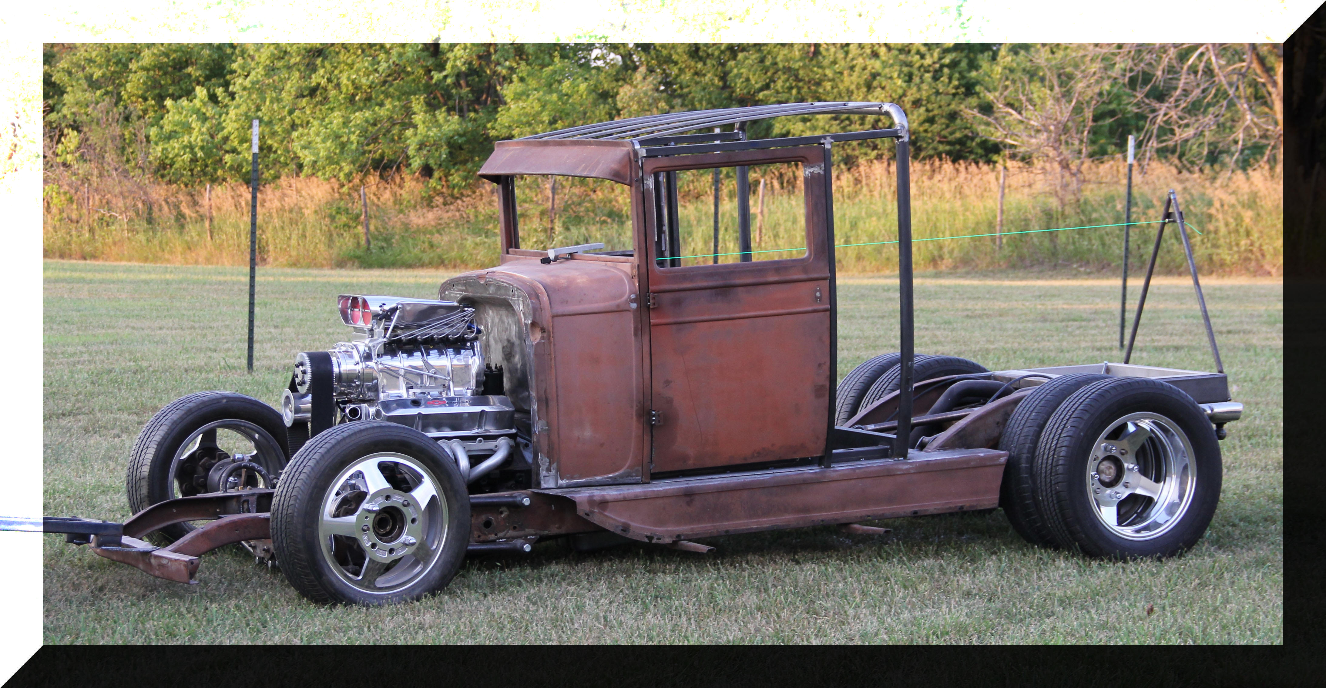 1929 Chevy Project 1 ton dually